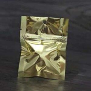 Gold Mylar Bags