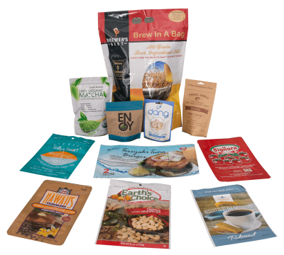 flexible barrier packaging custom printed maylar pouches