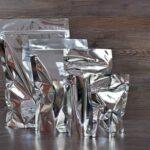Silver Mylar Bag