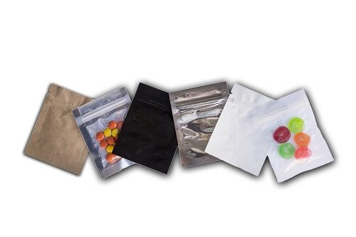 Selection of Lay flat Pouches