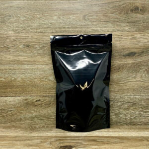 SuperBlack Custom Stand Up Pouches Ziplock Mylar Bags