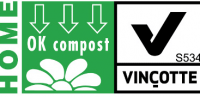 flexible barrier packaging recyclable certified OK Compost Vincotte Biodegradable Plastic Bags