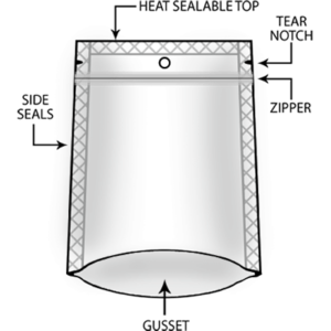 Stand Up Pouches Illustration