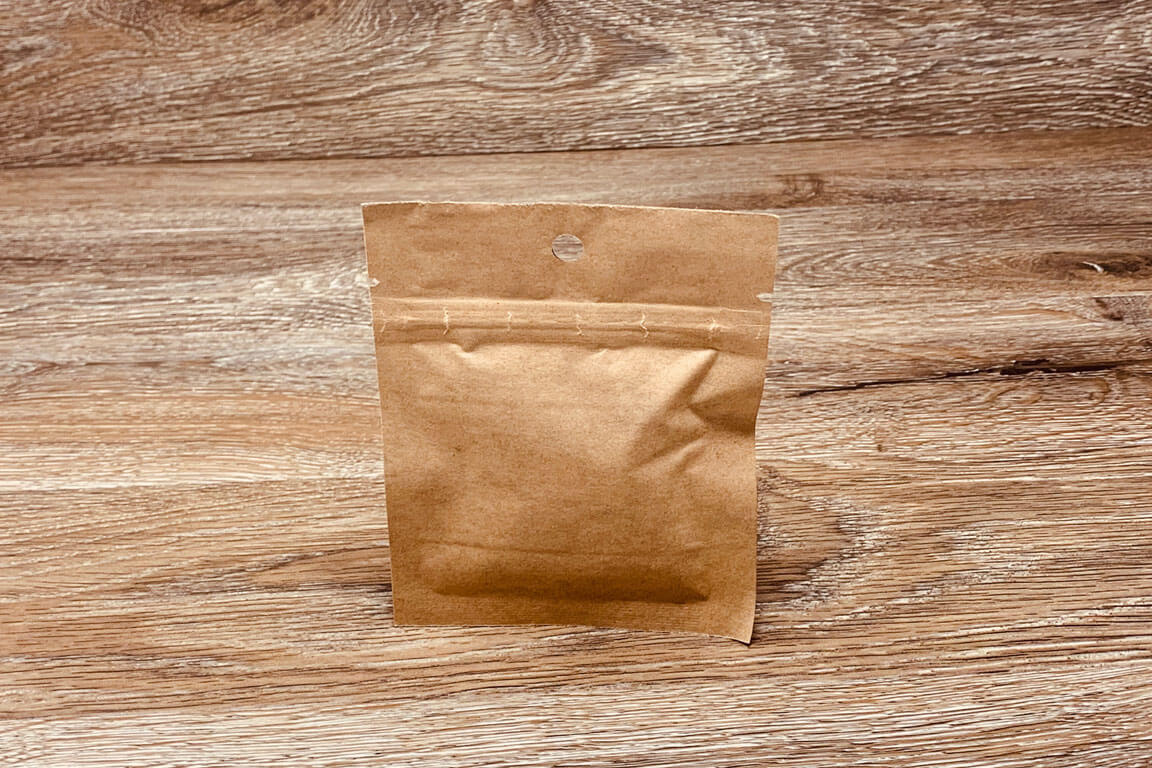 Kraft Custom Stand Up Pouches Ziplock Mylar Bags