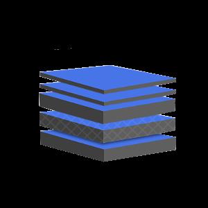 UltraWhite Pouch Lamination Configuration