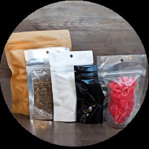 Pouchworth Flexible Barrier Packaging Ziplock Mylar Bags