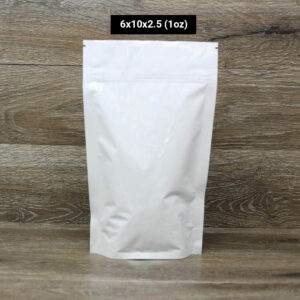 UltraWhite one oz child resistant packaging Custom Stand Up Pouches