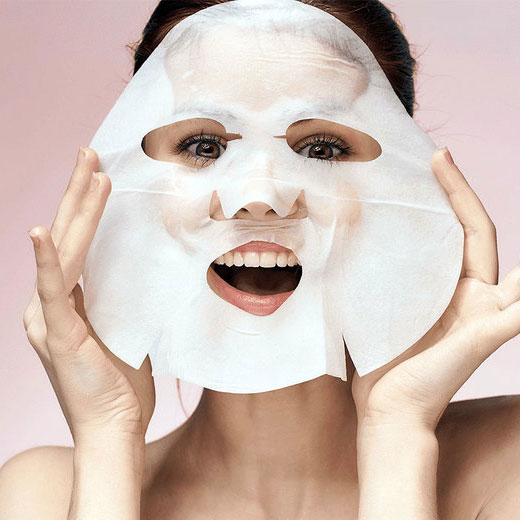 Custom Facial Mask Packaging SHEET MASKS custom face mask mask sheet