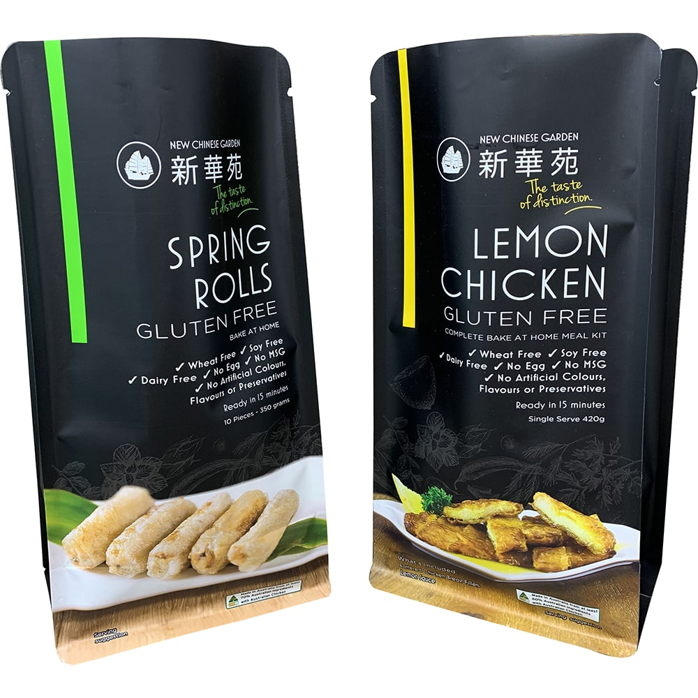 Custom Freeze Dried Food Packaging
