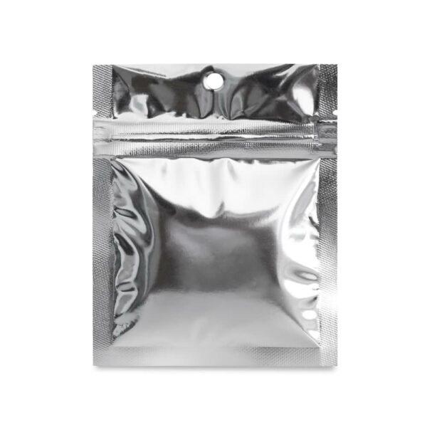 SilverDollar 3.5×4.5 – 100 Pack Flat Pouch Mylar Bags