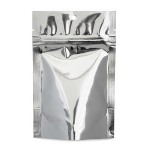 SilverDollar 4×6×2.5 – 100 Pack Stand Up Food Pouch Mylar Bags