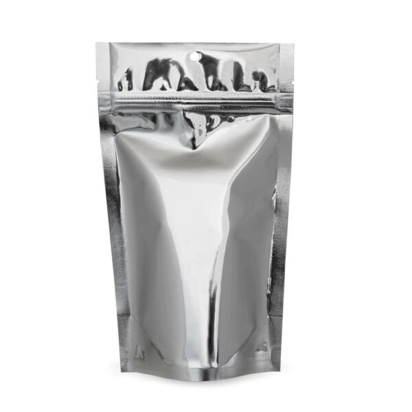 SilverDollar 5×8.5×3 – 100 Pack Stand Up Food Pouch Mylar Bags