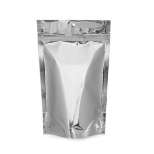 SilverDollar 6×9.5×3.5 – 100 Pack Stand Up Food Pouch Mylar Bags