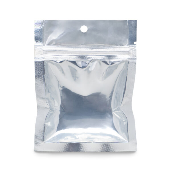 NYSM Clear/Silver 3.5×4.5 – 100 Pack 3 Seal Pouch Food Bags