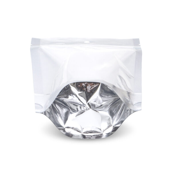 NYSM Clear/Silver 5×8.5×3 – 100 Pack