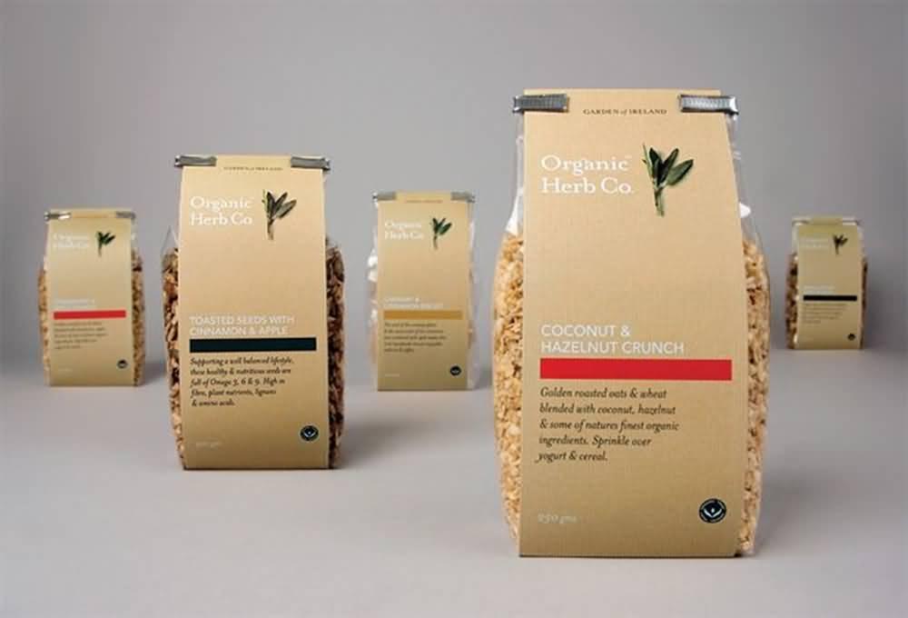 Custom Organic Food Packaging